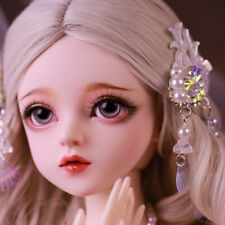 60cm 1/3 BJD Doll Girls Ball Jointed Dolls Full Set Changeable Eyes Dress Gifts