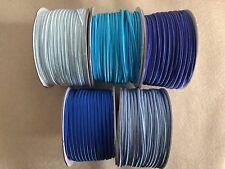 PROMO 15 metres (5x3m) Soutache Cord 3mm BLUE MIX LIGHT BLUE SAPPHIRE TURQUOISE
