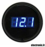 T626 - Voltmetro presa accendisigari 12-24V - Display blu