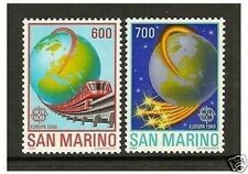 Mint Never Hinged/MNH Single Sammarinese Stamps