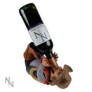 Cowboy Guzzler (Wine bottle holder)