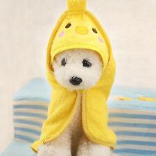 Pet Dog Cartoon Animal Washing Bathrobes Bath Towel Puppy Cat Super Absorbent S