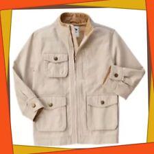 NWT Boys M(7-8) Gymboree BIKE BRIGADE KHAKI cargo Style Jacket Beige ZIP UP