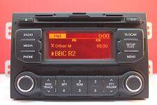 KIA RIO MK3 CAR STEREO decodificato CD RADIO LETTORE MP3 2011 2012 2013 2014