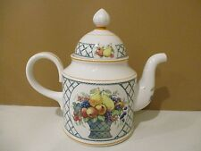"VILLEROY BOCH BASKET COFFEE POT - 5 1/4""  1304I"
