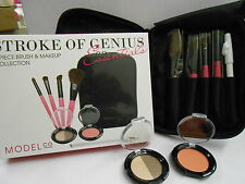 MODEL CO STROKE OF GENIUS,8 PIECE BRUSH AND MAKEUP COLLECTION