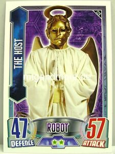 #228 The Host - Alien Attax Doctor Who