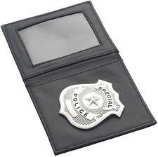 Porte Carte Badge POLICE Déguisement Adulte Homme Costume Policier
