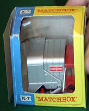 MATCHBOX K 7 S.D. REFUSE TRUCK (DAMAGED BOX) a