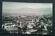 Fiume - Town/ Port. Vintage RP Postcard Pre WW2 Carte Postale Italy / Croatia