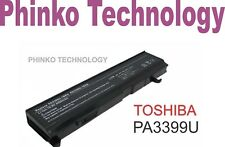 NEW Battery for TOSHIBA PA3399U-1BAS, PA3399U-1BRS, PA3399U-2BAS, PA3399U-2BRS