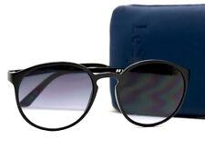 Le Specs Swizzle Sunglasses Unisex Black Frame Green Gradient Lenses 1502061 TR