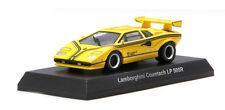 Kyosho Lamborghini Countach LP 500R Yellow diecast car 1:64