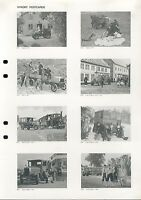 Scania Prospekt 1983 Postkarten brochure postcards prospectus broschyr brosjyre