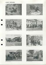Prospekt 1983 Scania Postkarten brochure postcards Lkw Lastwagen Nutzfahrzeuge