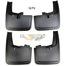 NEW OEM 15-18 Ford F-150 Front, Rear Mud Flaps SET Wheel Lip Mouldings, Flairs