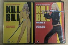 Kill Bill Volume 1 & Kill Bill Volume 2 - Uma Thurman Dvd - Action - 2 Movies