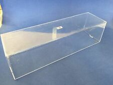 "OVERSIZE CLEAR MODEL PLASTIC DISPLAY CASE DRAGON CANDO 11.5 "" x 3,25 "" x 3.0"""