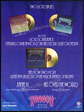 XANADU__Original 1980 Trade AD poster__soundtrack promo__OLIVIA NEWTON JOHN__ELO