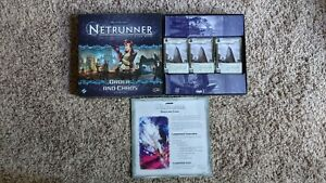 ORDER AND CHAOS Deluxe Expansion for Android Netrunner - Complete!