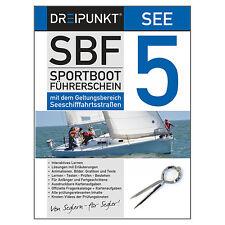 Lernsoftware Sportbootführerschein SBF SEE # Dreipunkt Software PC, aktuell NEU