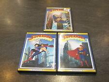 DC COMICS LOT DE 3 DVD SUPERMAN CLASSIC CARTOON VOL 1 A VOL 3 ZYLO OCCASION
