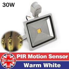 PIR10W 20W 30W 50W Motion Sensor LED Floodlight Outdoor Security Flood Light  UK