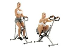 Sunny Health & Fitness Upright Squat Row-N-Ride Trainer Resistance Machine Assis