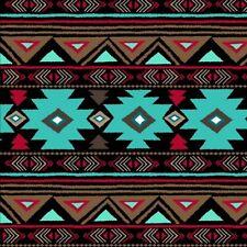 "Native American Fleece Fabric Peace - 60"" Wide - Style# 46374-2"