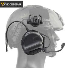 IDOGEAR elektronische Headset Ohr Muff Schießen für Helm Keine Batteri Version