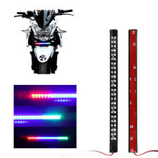Scanner-Knight-Rider Light Strip for Car motorcycle Home Decoration Red 48LED