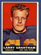 1961 Topps Football Larry Grantham #154 New York Titans EX+/EX-MT