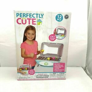 Perfectly Cute Let's Get Cooking Stovetop & Grill Play Food & Kitchen Accessory