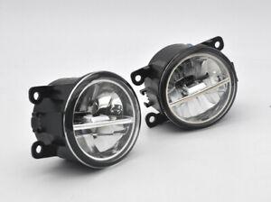 2x LED Fog Lights Lamp FOR Mitsubishi Triton Pajero Challenger Mirage 380 Grandi