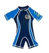 Surfit Boy's Shorty Sunsuit NAVY/ROYAL BLUE UV Protection Age 8-9yrs NEW