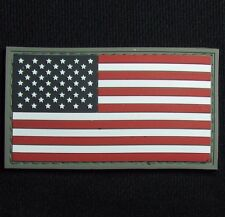3D PVC USA US UNITED STATES AMERICAN FLAG TACTICAL UNIFORM FULL COLOR PATCH