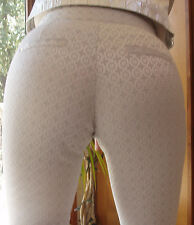 NWT BEAUTIFUL CACHE SILVER METALLIC S/0  PANTS