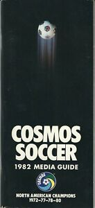 1982 New York Cosmos Media Guide, North American Soccer League