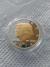 Donald Trump 2016 Two Tone Challenge Coin. Super Rare Beauty