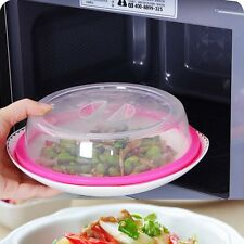 PlateTopper Universal Leftover Lid Microwave Cover Airtight Plate Topper Home CE