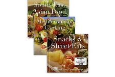 South - East Asian Food, Mediterranean Cooking, and Snacks & Street Eats