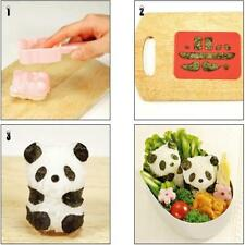 DIY Cute Panda Sandwich Tool Sushi Nori Rice Mold Decor Cutter Bento Maker DB
