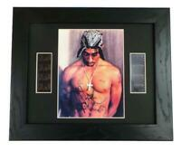 TUPAC Signed PREPRINT TUPAC FILM CELLS FRAMED COLLECTORS ITEM 2PAC SHAKUR GIFTS