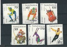 TANZANIA 1994 Lillehammer Olympische Spiele