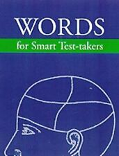 Arco Words for Smart Test-Takers (Arco Academic Test Preperation)