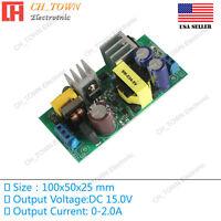 AC-DC 15V 2.0A 30W Power Supply Buck Converter Step Down Module High Quality USA