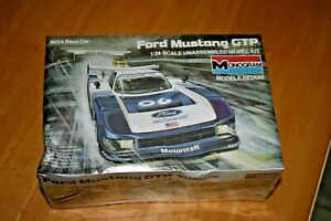 1/24 FORD MUSTANG IMSA GTP RACER MONOGRAM PLASTIC KIT HARD TO FIND