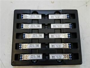 LOT of 10x J4859C HP Procurve Compatible SFP LX 1Gb/s Transceivers
