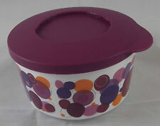 Tupperware Iluminas Klick und Stapel Dose 550 ml Lila Violett Bunt Neu OVP
