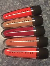 Makeup Geek SHOWSTOPPER Lipstick Stain, Do-si-do,Mambo,Tango,Foxtrot,Jitterbug